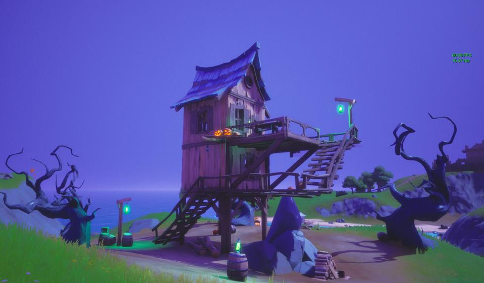 Fortnite Witch Shack